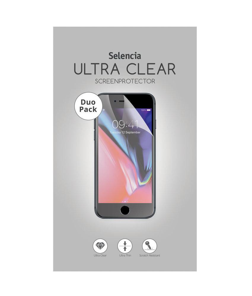 Selencia Duo Pack Ultra Clear Screenprotector Huawei P20 Lite