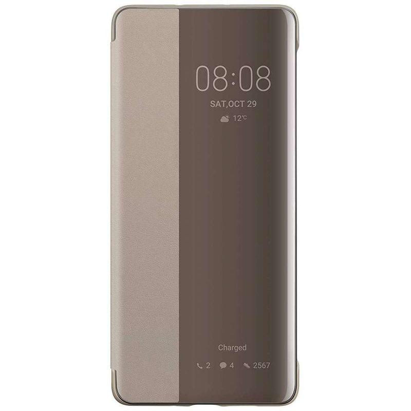 Huawei Smart View Flip Case Huawei P30 Pro - Bruin