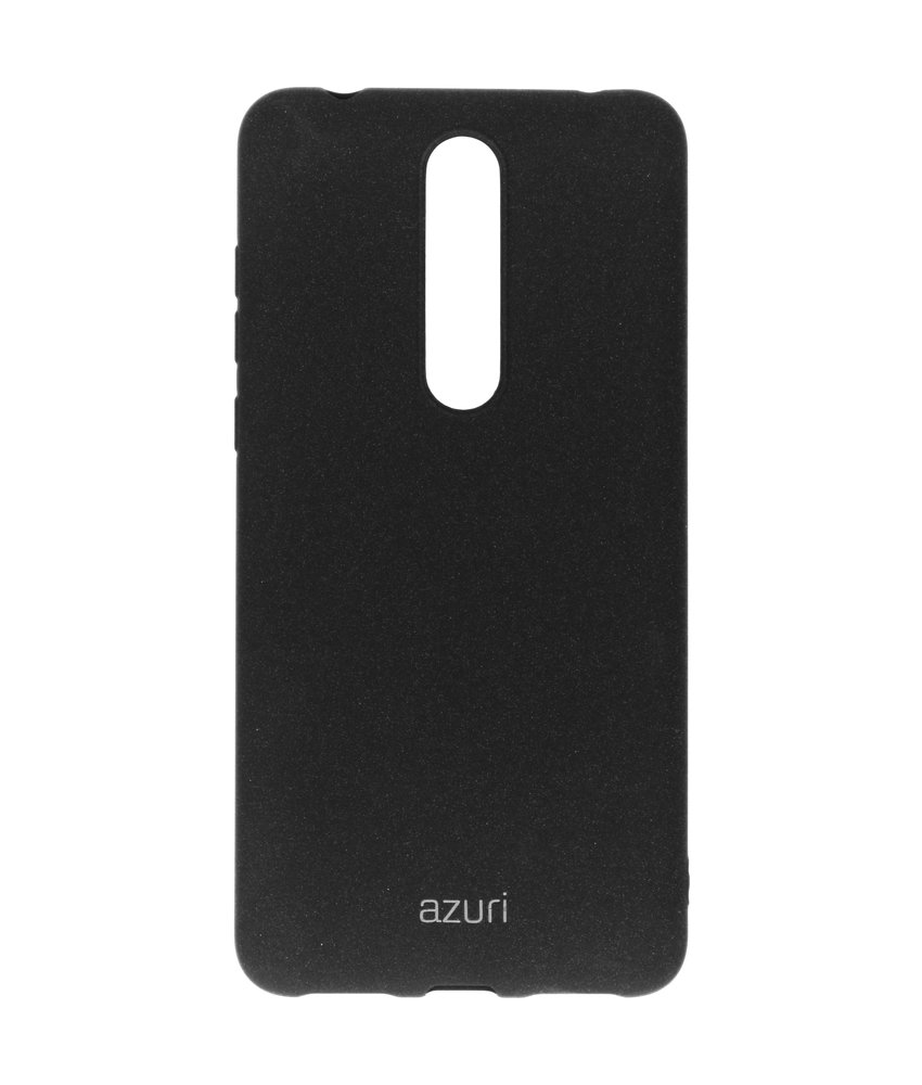Azuri Slim Backcover Nokia 3.1 Plus - Zwart