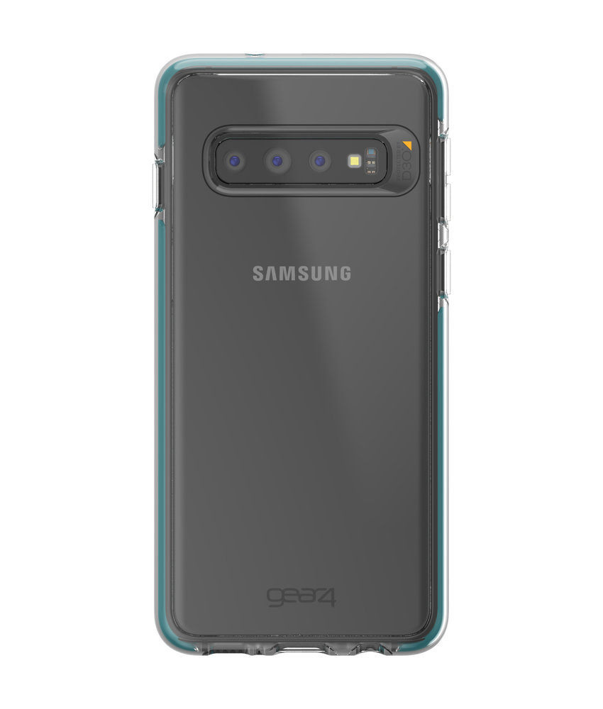 Gear4 Piccadilly Backcover Samsung Galaxy S10 - Blauw