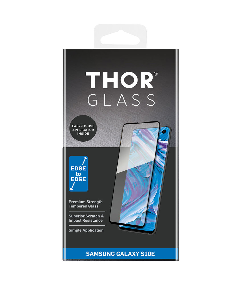 THOR Full Screenprotector + Apply Frame Samsung Galaxy S10e