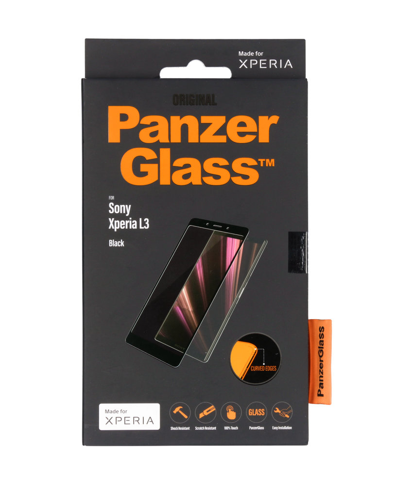 PanzerGlass Premium Screenprotector Sony Xperia L3 - Zwart