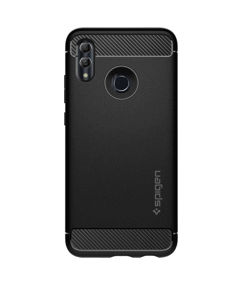 Spigen Rugged Armor Backcover Huawei P Smart (2019) - Zwart