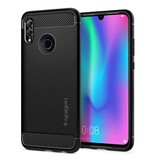 Spigen Rugged Armor Backcover voor de Huawei P Smart (2019) - Zwart