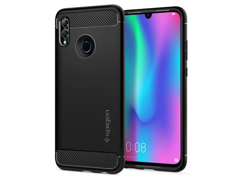 Huawei P Smart (2019) hoesje - Spigen Rugged Armor Backcover