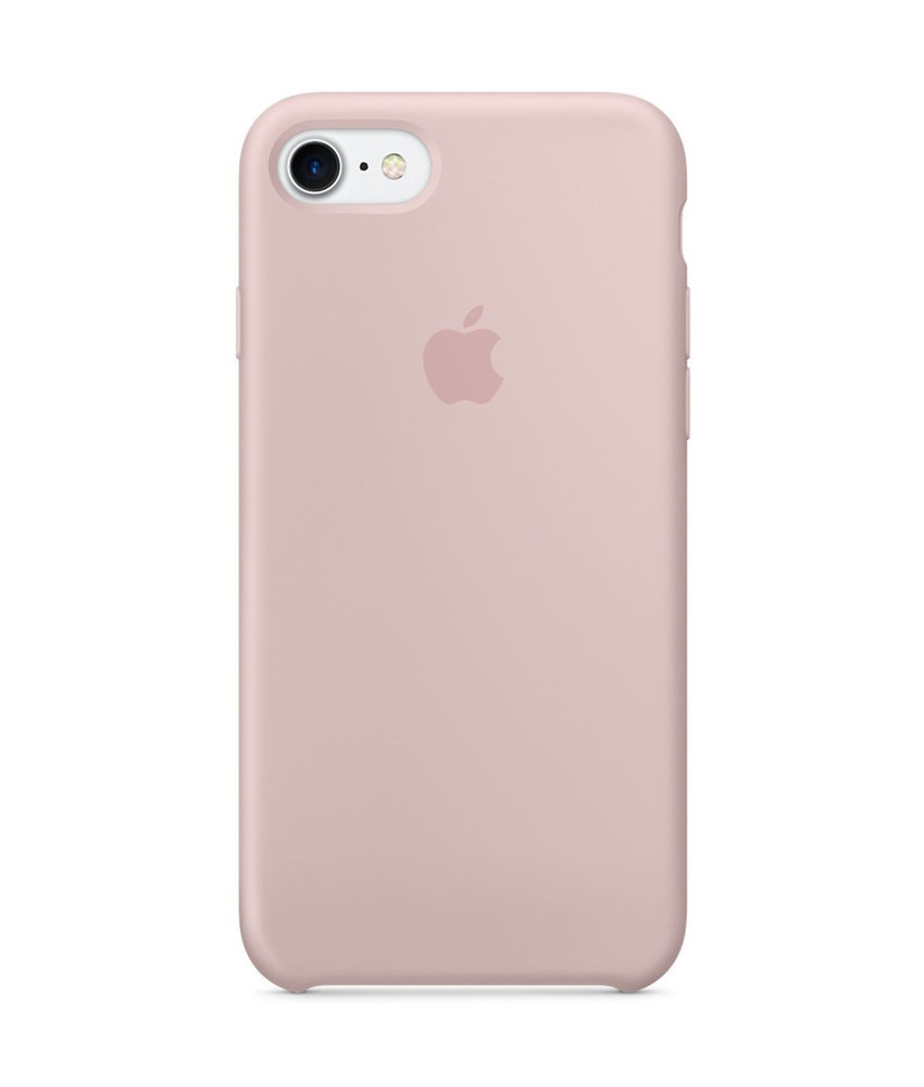 Apple Silicone Backcover iPhone 8 / 7 - Pink Sand