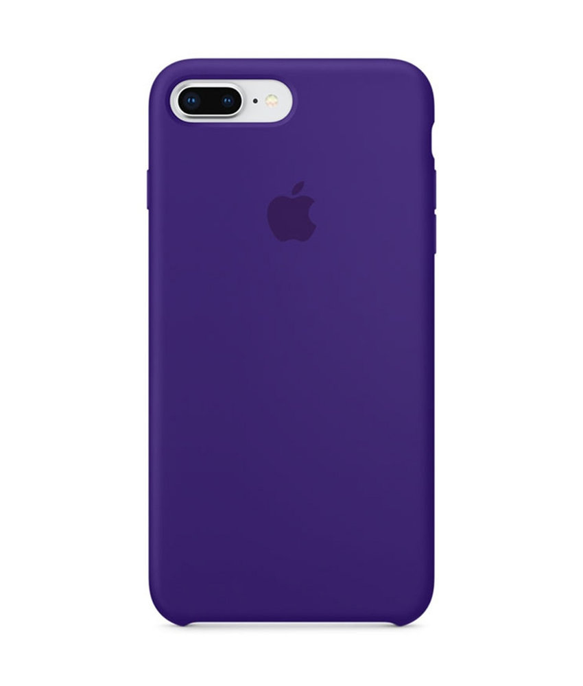 Apple Silicone Backcover iPhone 8 Plus / 7 Plus - Ultra Violet