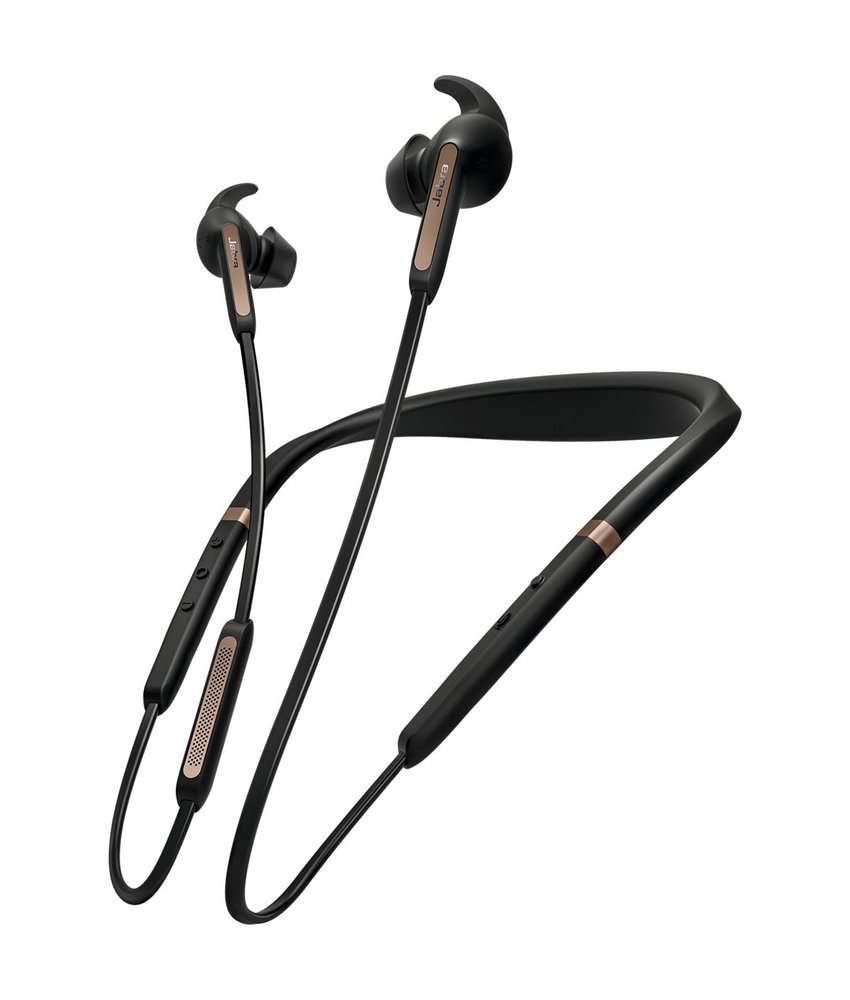 Jabra Elite 65e Bluetooth Headset - Zwart