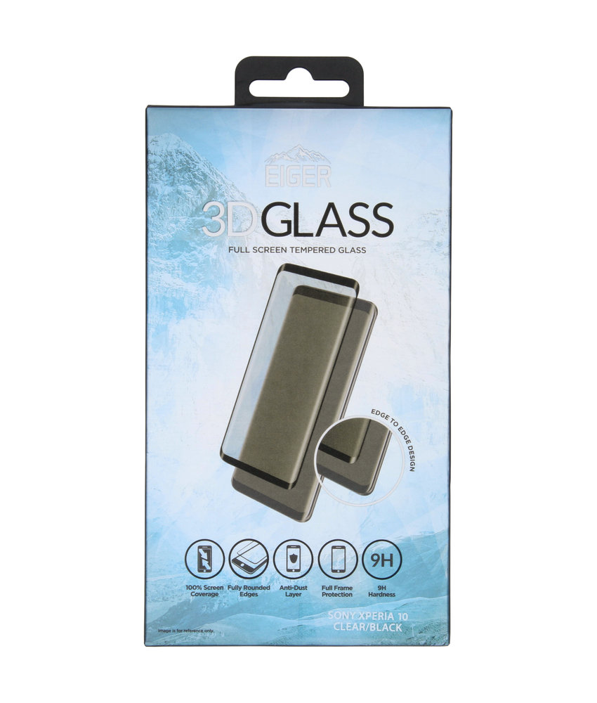 Eiger Tempered Glass Screenprotector Sony Xperia 10
