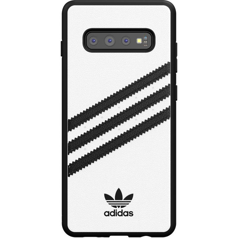 adidas Originals Samba Backcover Samsung Galaxy S10 Plus - Wit / Zwart