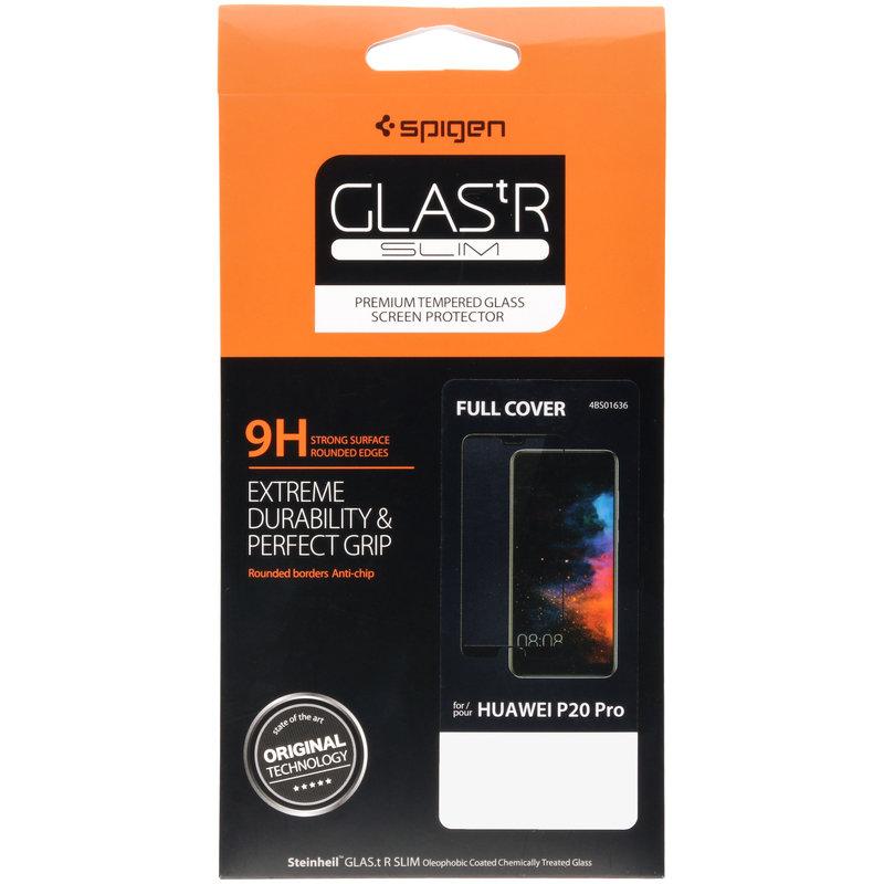 Spigen GLAStR Full Cover Screenprotector Huawei P20 Pro - Zwart