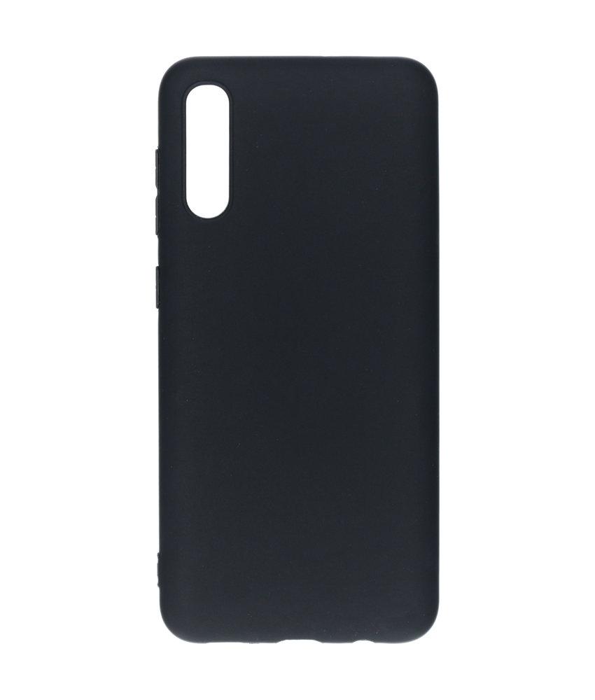 Color Backcover Samsung Galaxy A50 / A30s - Zwart