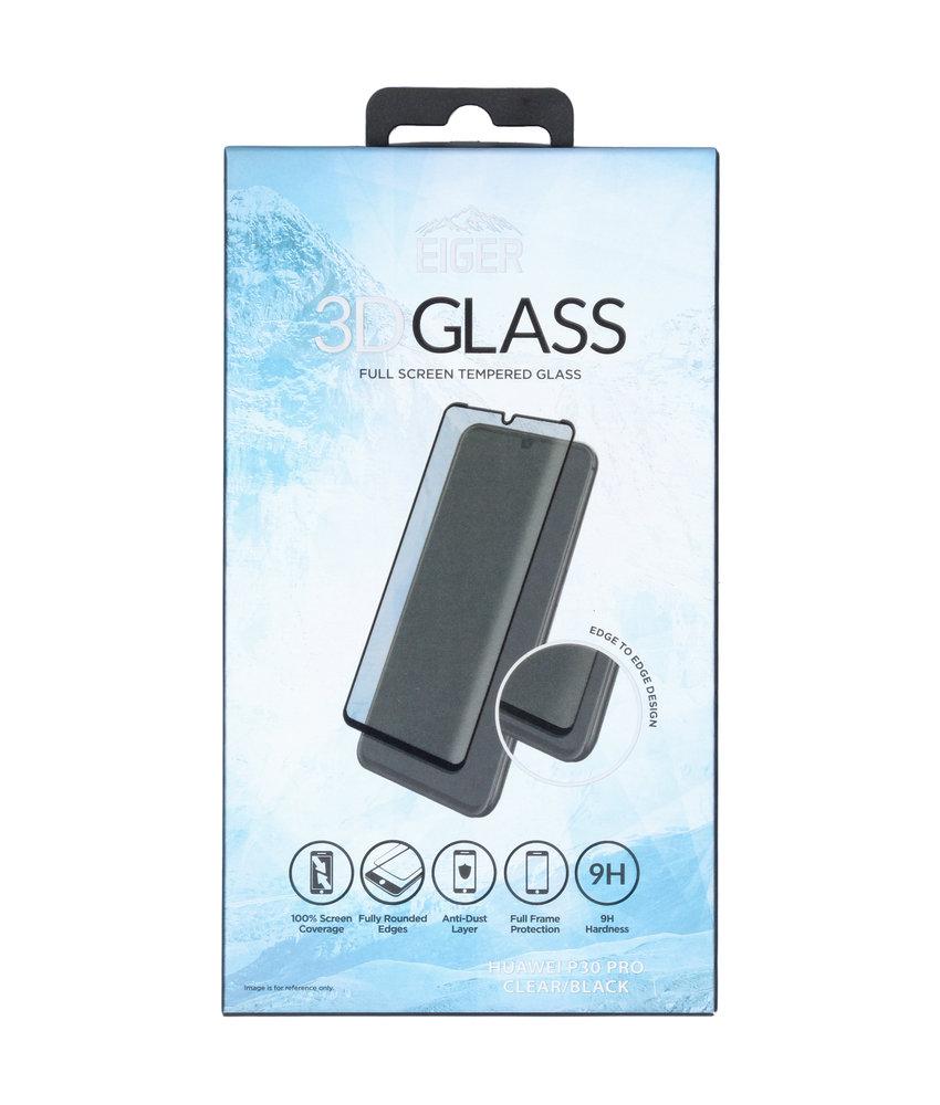 Eiger Edge to Edge Glass Screenprotector Huawei P30 Pro - Zwart
