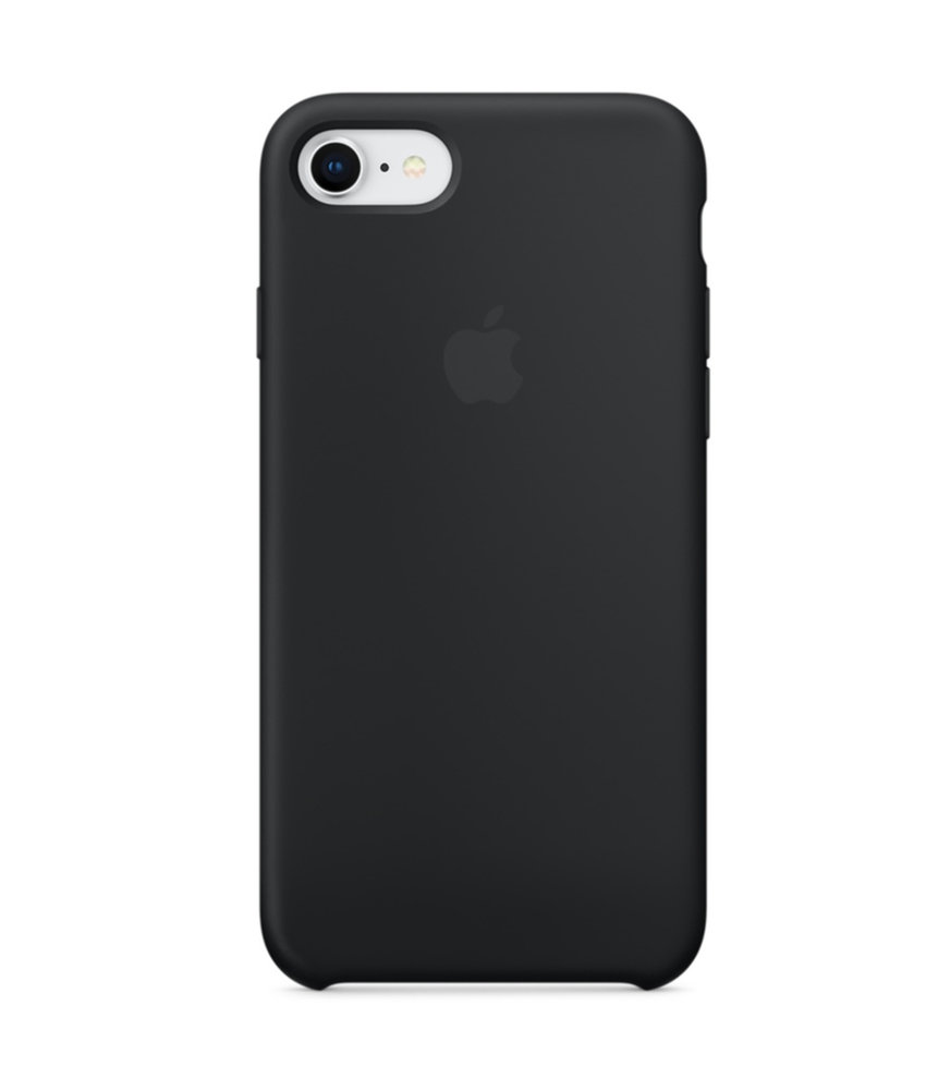 Apple Silicone Backcover iPhone 8 / 7 - Zwart