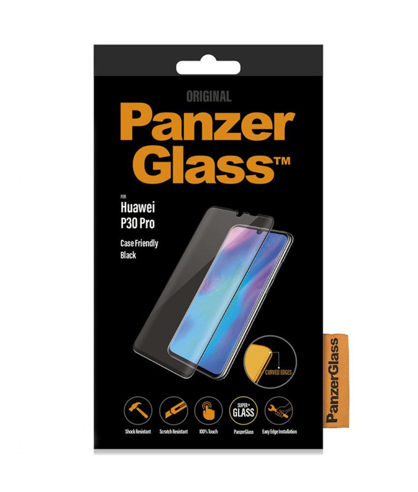 PanzerGlass Premium Screenprotector Huawei P30 Pro - Zwart