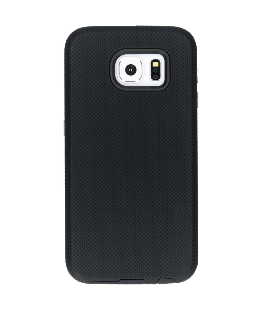 Accezz Xtreme Hardcase Backcover Samsung Galaxy S6 - Zwart