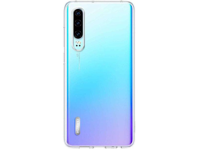 Huawei P30 hoesje - Huawei Soft Clear Backcover