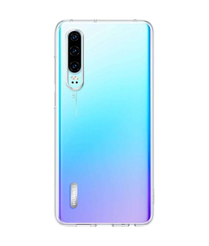 Huawei Soft Clear Backcover Huawei P30 - Transparant