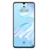 Huawei Soft Clear Backcover voor de Huawei P30 - Transparant