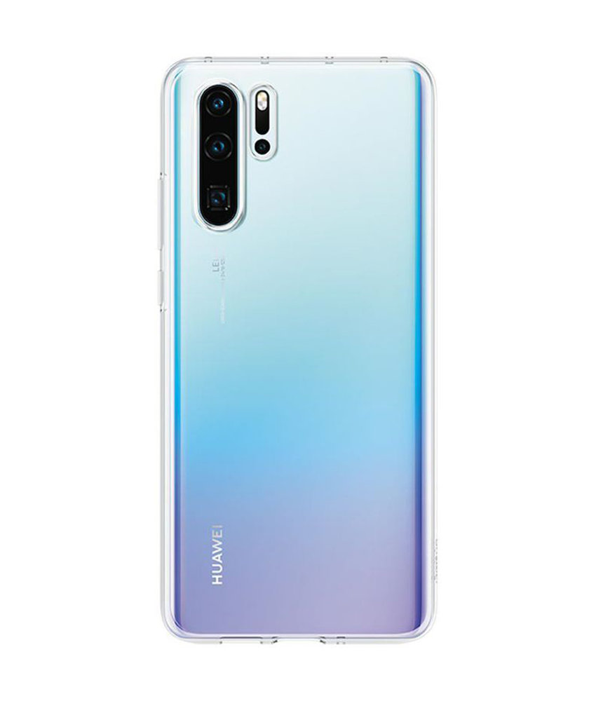 Huawei Soft Clear Backcover Huawei P30 Pro - Transparant
