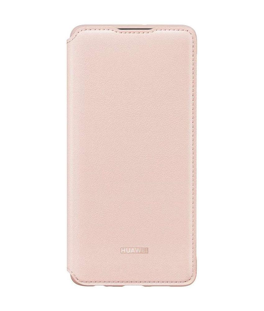 Huawei Wallet Booktype Huawei P30 - Roze