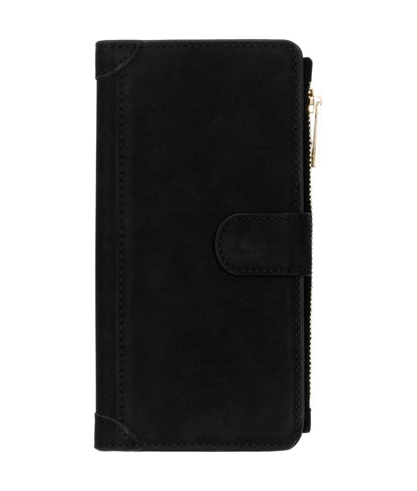 Luxe Portemonnee Samsung Galaxy A50 / A30s - Zwart