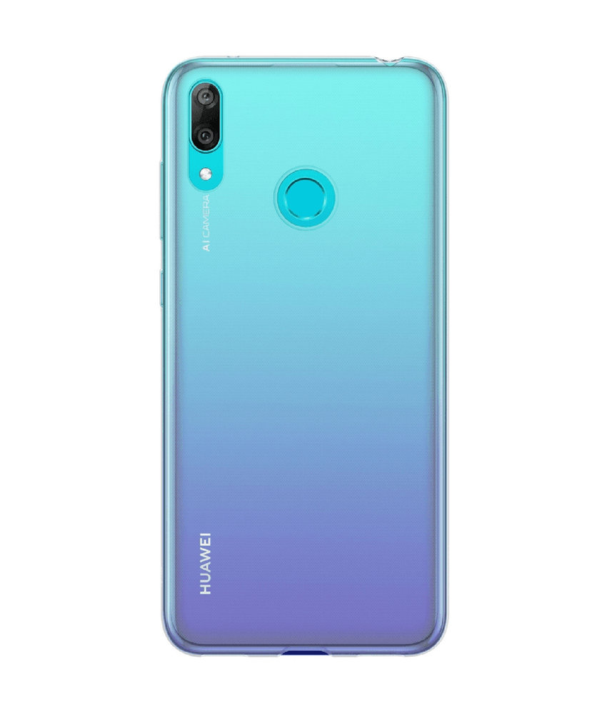 Huawei Soft Clear Backcover Huawei Y7 2019 - Transparant