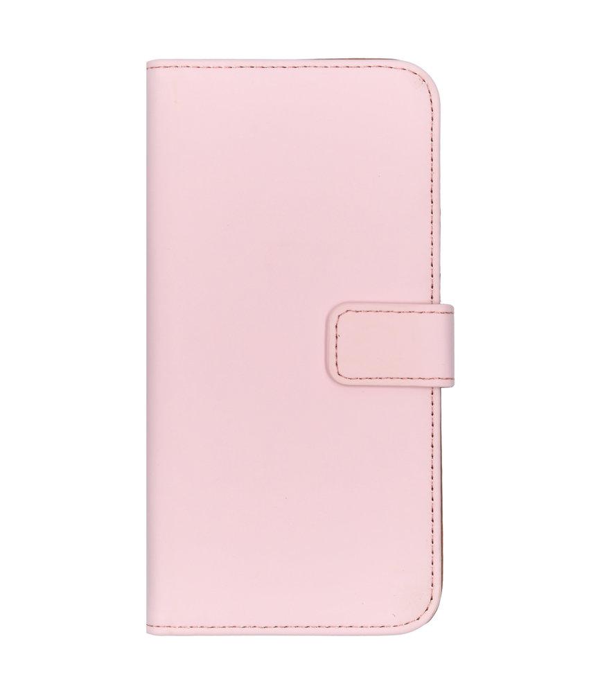 Selencia Luxe Softcase Booktype Samsung Galaxy A40 - Roze