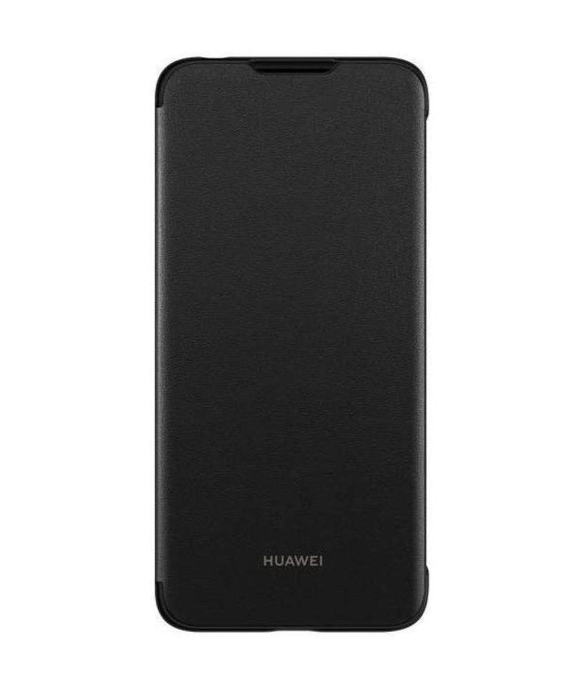 Huawei Flip Cover Huawei Y6 (2019) - Zwart
