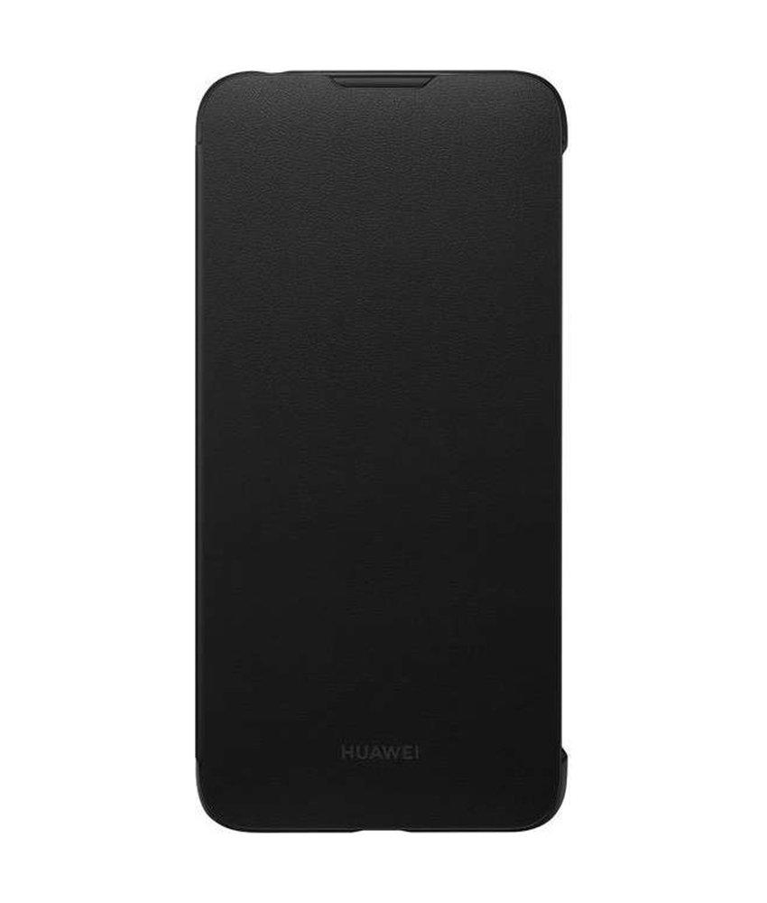 Huawei Flip Cover Huawei Y7 (2019) - Zwart