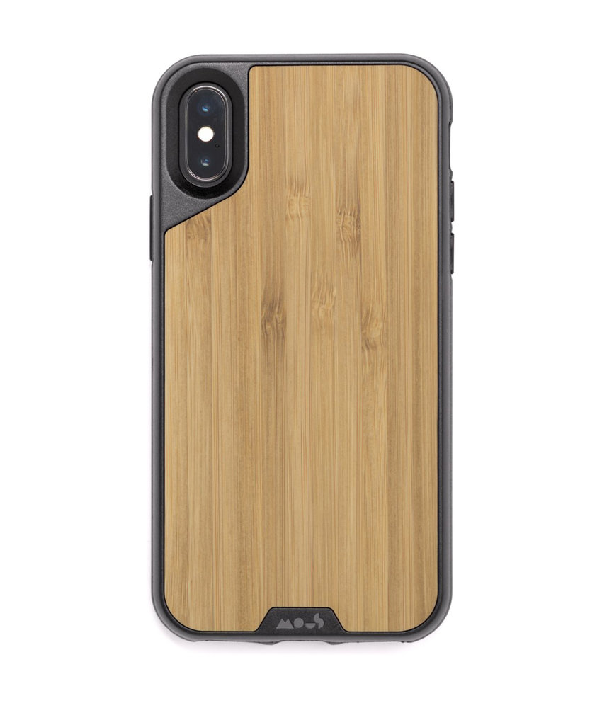 Mous Limitless 2.0 Case iPhone Xs / X - Bamboo