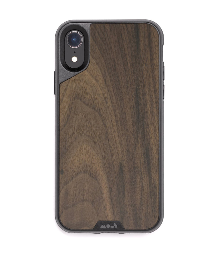 Mous Limitless 2.0 Case iPhone Xr - Walnut