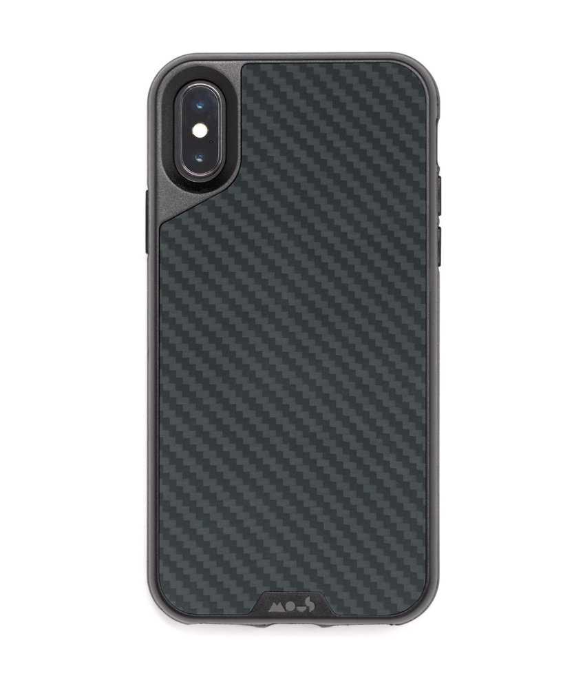 Mous Limitless 2.0 Case iPhone Xs Max - Carbon