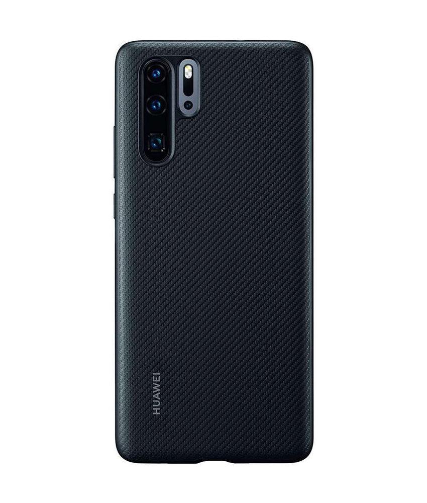 Huawei Hardcase Backcover Huawei P30 Pro - Zwart Carbon