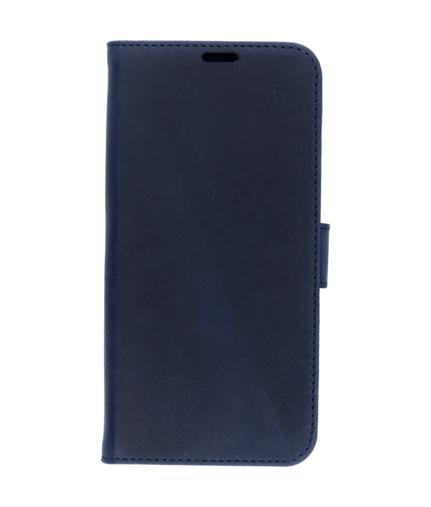 Valenta Classic Luxe Booktype Samsung Galaxy S10 - Donkerblauw