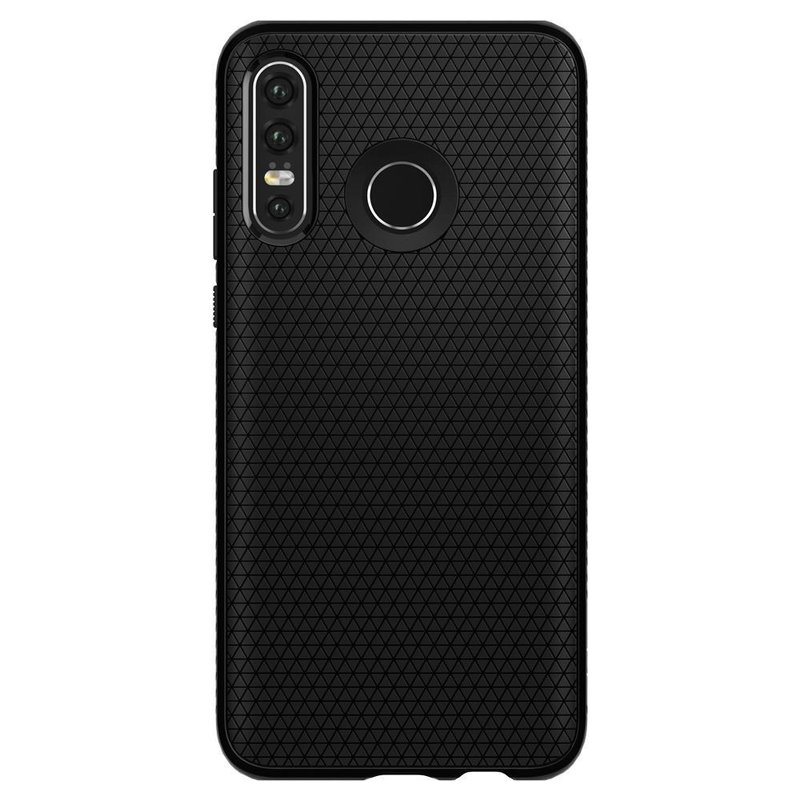 Spigen Liquid Air Backcover Huawei P30 Lite - Zwart