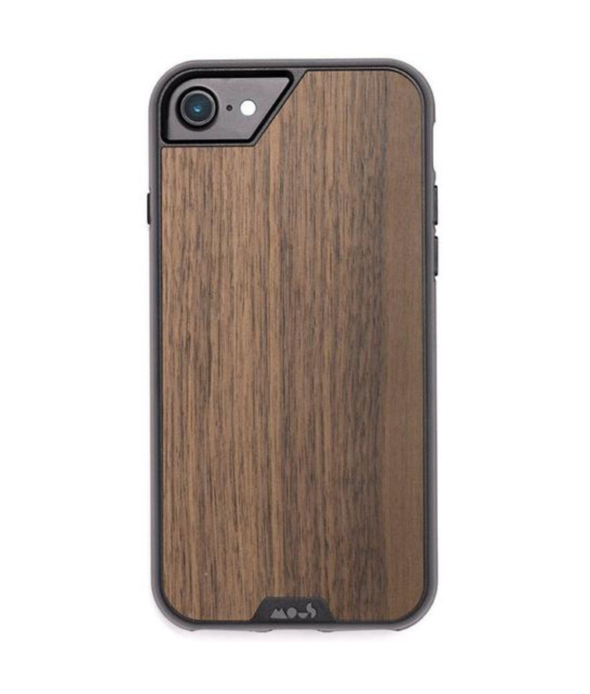 Mous Limitless 2.0 Case iPhone 8 / 7 / 6s / 6 - Walnut