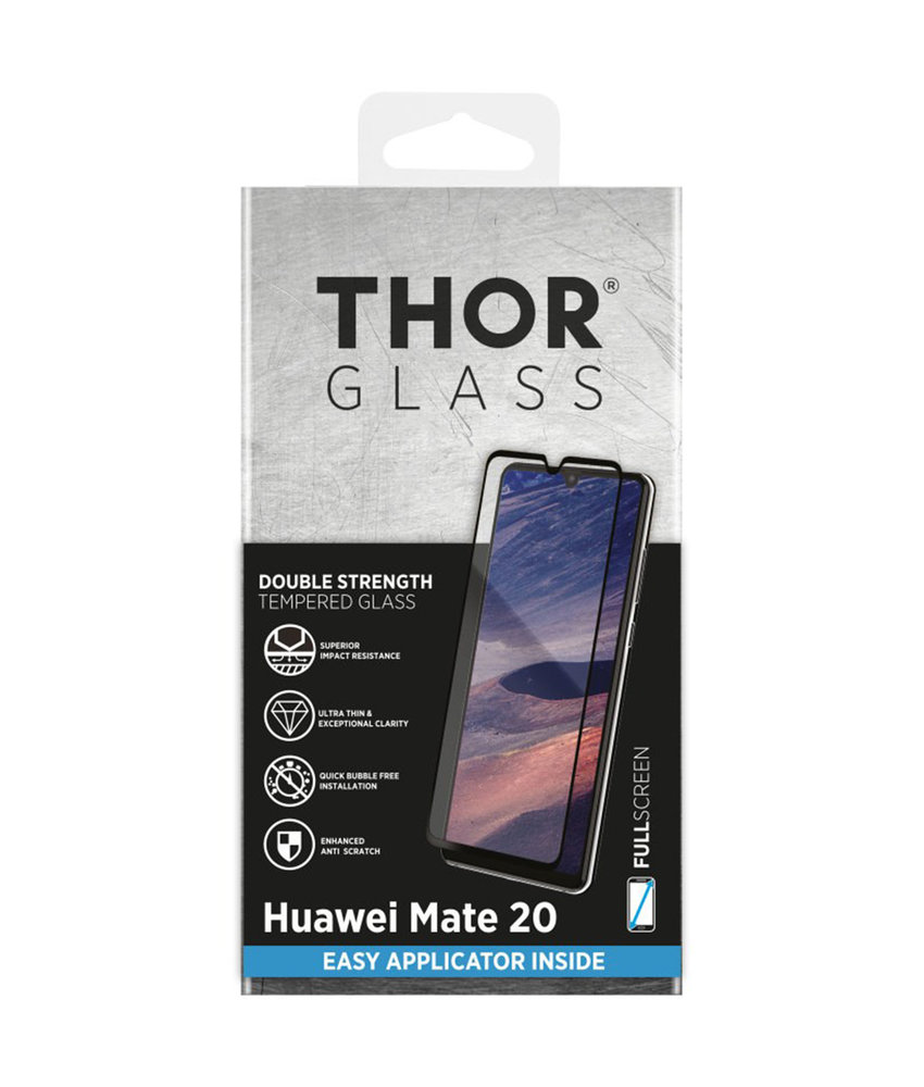 THOR Full Screenprotector + Apply Frame Huawei Mate 20