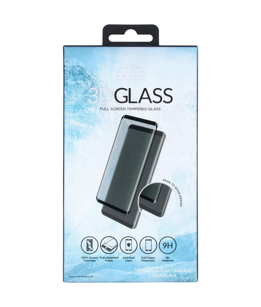Eiger Edge to Edge Glass Screenprotector Samsung Galaxy A50