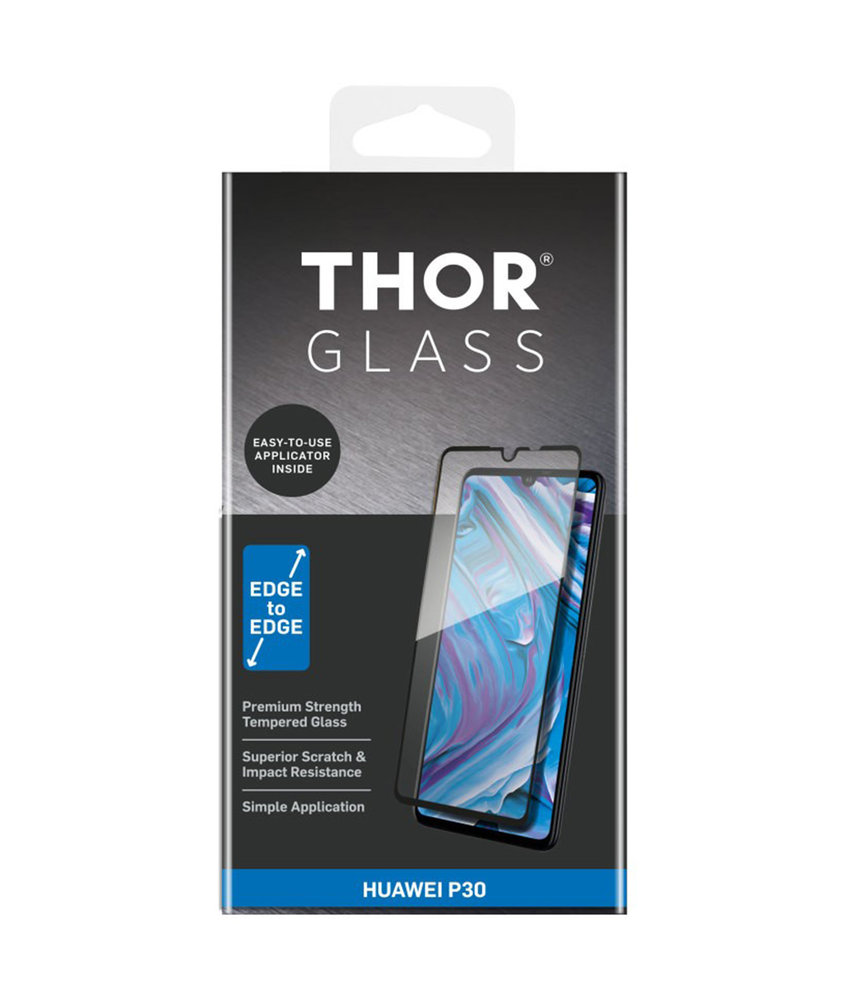 THOR Full Screenprotector + Apply Frame Huawei P30