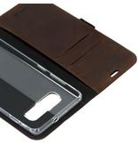 Valenta Classic Luxe Booktype voor de Samsung Galaxy S10 Plus - Bruin