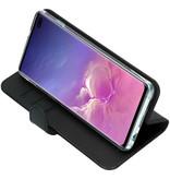 Valenta Classic Luxe Booktype voor de Samsung Galaxy S10 Plus - Zwart