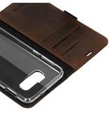 Valenta Classic Luxe Booktype voor de Samsung Galaxy S10e - Donkerbruin