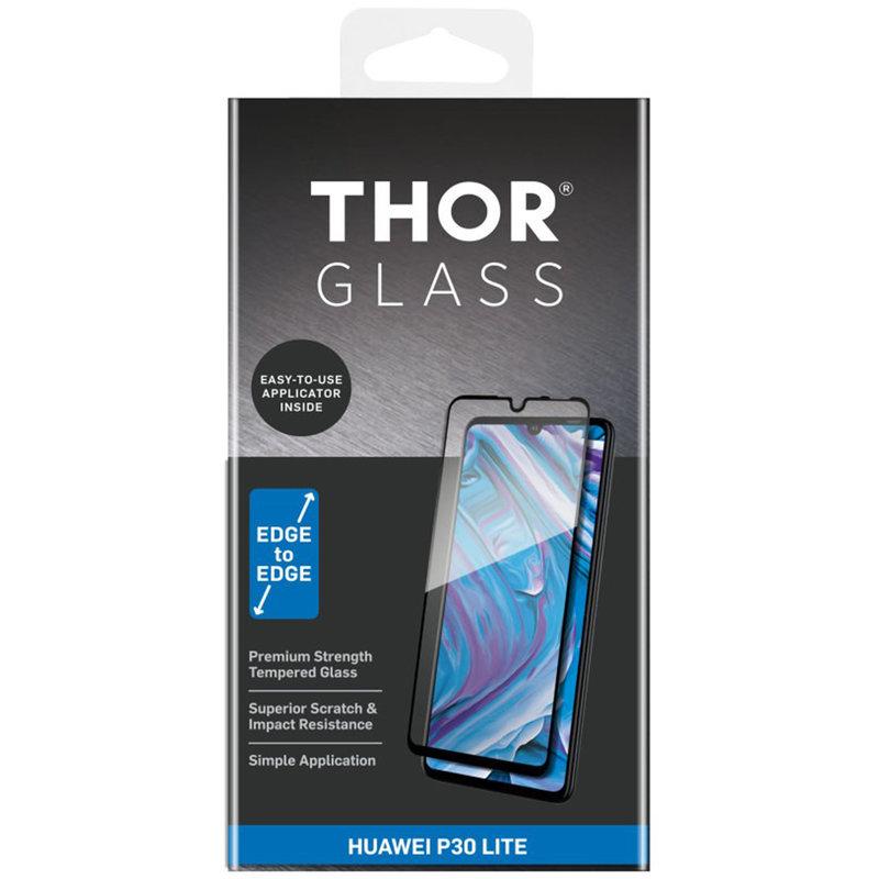 THOR Full Screenprotector + Apply Frame Huawei P30 Lite