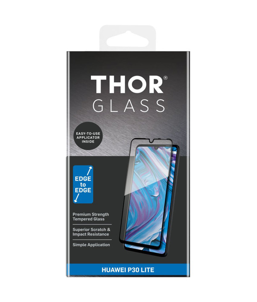 THOR Full Screenprotector + Apply Frame Huawei P30 Lite