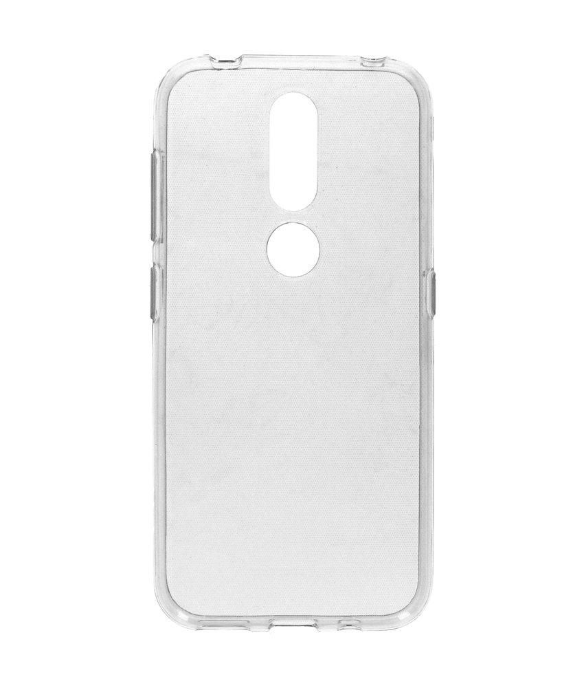 Softcase Backcover Nokia 4.2 - Transparant