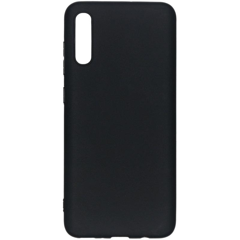 Color Backcover Samsung Galaxy A70 - Zwart