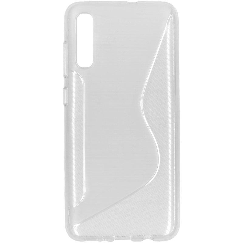 S-line Backcover Samsung Galaxy A70 - Transparant