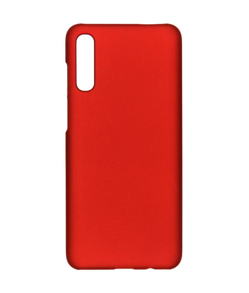 Effen Backcover Samsung Galaxy A70 - Rood