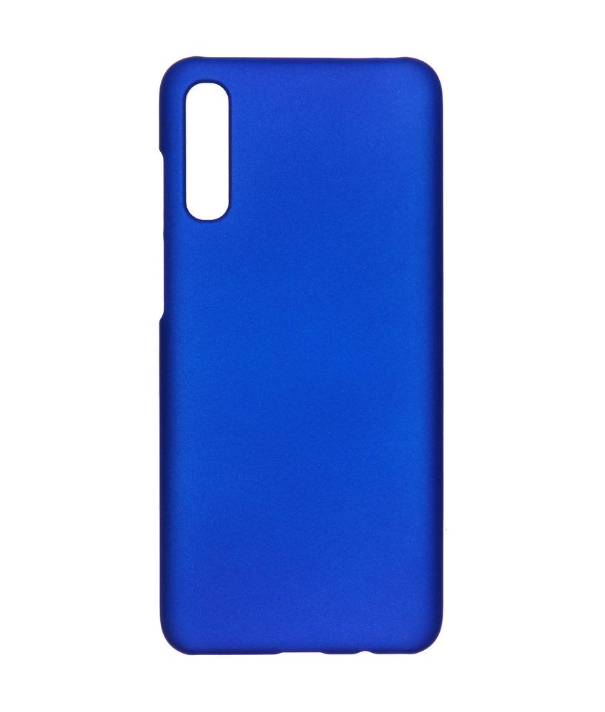 Effen Backcover Samsung Galaxy A70 - Blauw